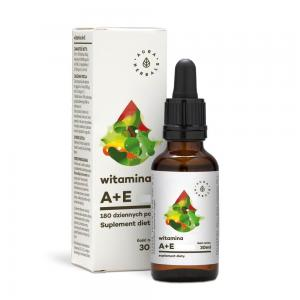 Aura Herbals Witamina A+E Forte krople 30ml