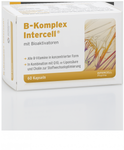 B - komplex 60 kapsułek Intercell