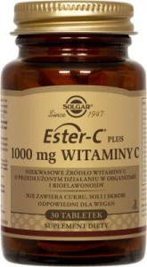 SOLGAR Ester-C Plus 30 tab. Witamina C 1000 mg