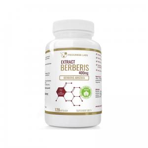 PROGRESS Berberis Aristata Berberyna Extract 5:1 400mg 120 Kapsułek