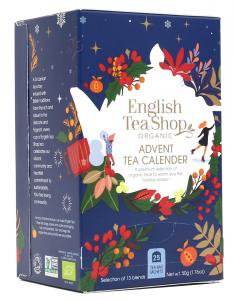 Kalendarz adwentowy Advent Canlendar 25 saszetek English Tea