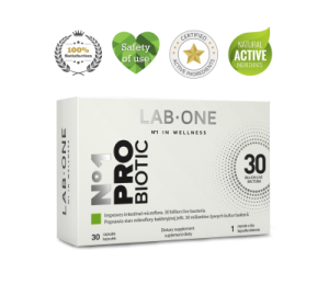 LAB ONE N1 PROBIOTIC 30k PROBIOTYK JELITA