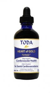 TODA krople  HEART of GOLD Formula 120ml