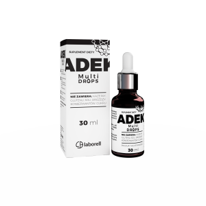 LABORELL ADEK drops KROPLE 30ml VEGE