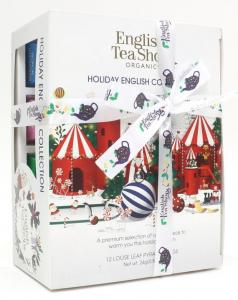 Angielskie herbaty Holiday White Prism 12 Piramididek English Tea