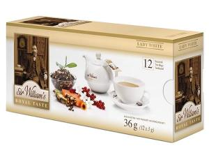 Herbata Lady White Biała Herbata Sir William's Royal Taste 12szaszetek