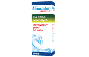 Sinudafen Izotonic Izotoniczny spray do nosa 30 ml