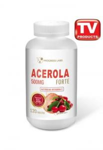 Progress Labs Acerola Forte 500mg Naturalna Wit. C 120 Tabl.