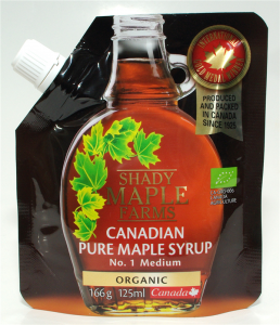 SYROP KLONOWY A BIO 166 g (125ml) - SHADY MAPLE FARMS
