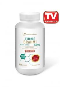 Progress Labs Brahmi Bacopa Monnieri 200mg Ekstrakt 20:1 120 Kaps